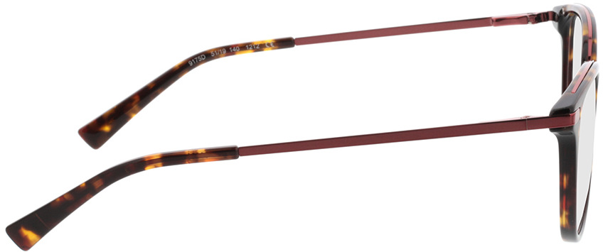 Picture of glasses model Adore-braun-meliert/pink in angle 90