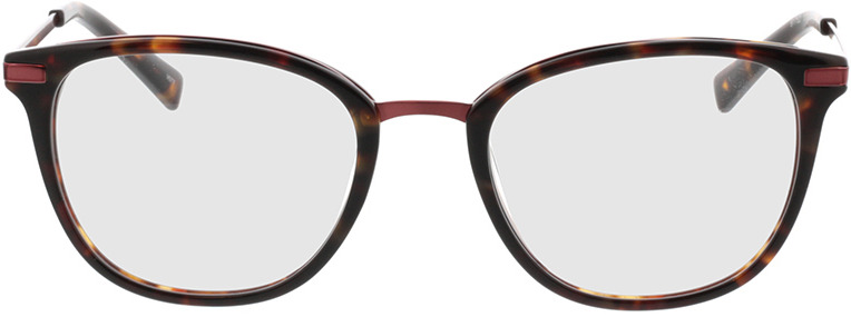 Picture of glasses model Adore-braun-meliert/pink in angle 0
