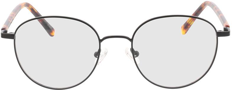 Picture of glasses model Utrecht-schwarz/havana in angle 0