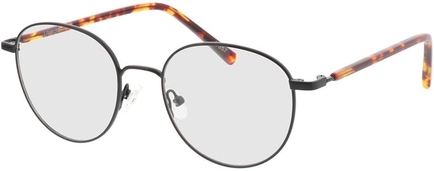 Picture of glasses model Utrecht-schwarz/havana in angle 330