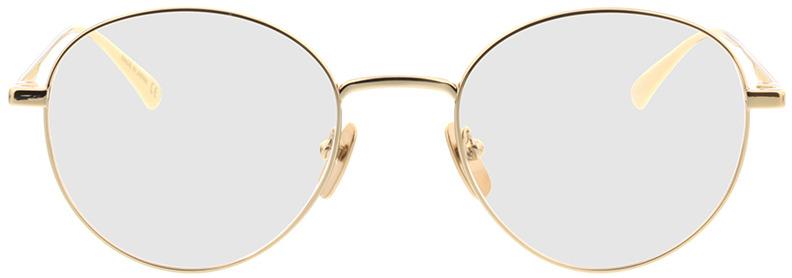 Picture of glasses model Gucci GG0337O-001 51-20 in angle 0