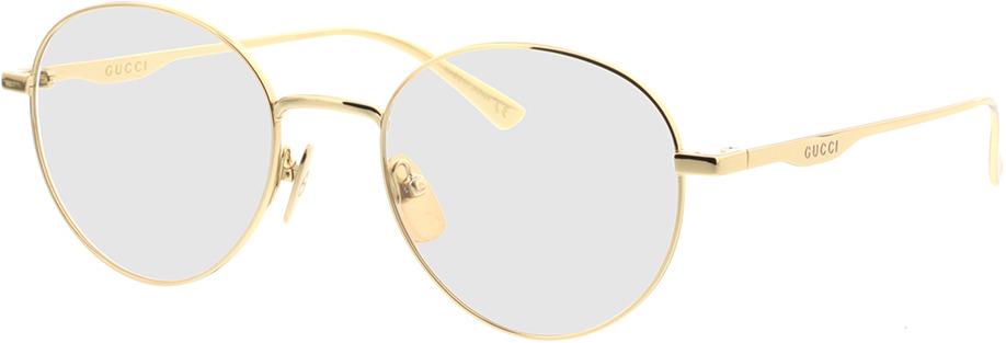 Picture of glasses model Gucci GG0337O-001 51-20 in angle 330