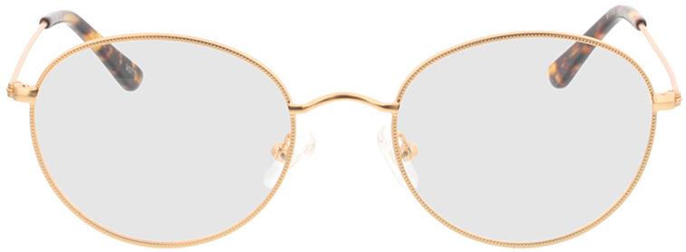 Picture of glasses model Zanna-matt gold in angle 0