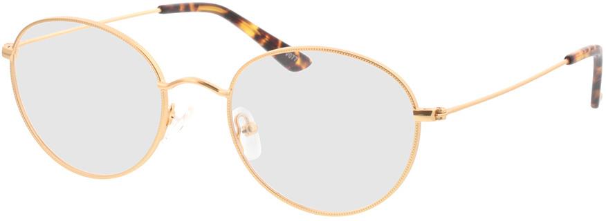 Picture of glasses model Zanna-matt gold in angle 330