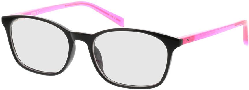 Picture of glasses model Puma PJ0031O-002 49-16 in angle 330