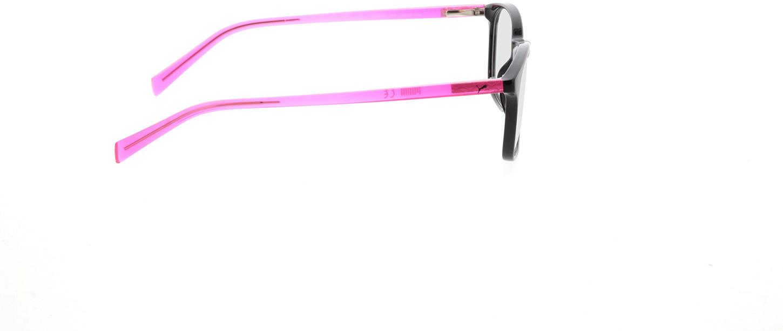 Picture of glasses model Puma PJ0031O-002 49-16 in angle 90