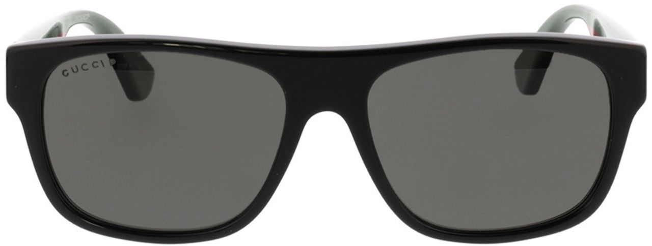 Picture of glasses model Gucci GG0341S-002 56-17 in angle 0