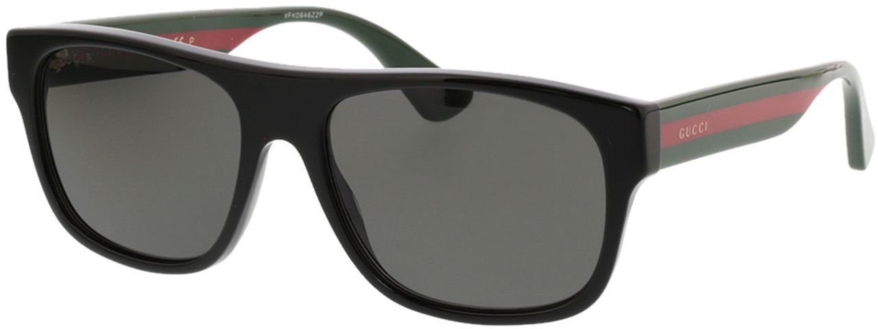 Picture of glasses model Gucci GG0341S-002 56-17 in angle 330
