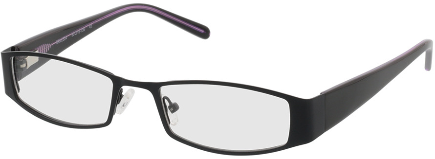 Picture of glasses model Varberg black in angle 330