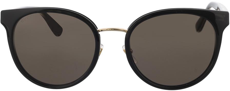 Picture of glasses model Gucci GG0850SK-001 56-21 in angle 0