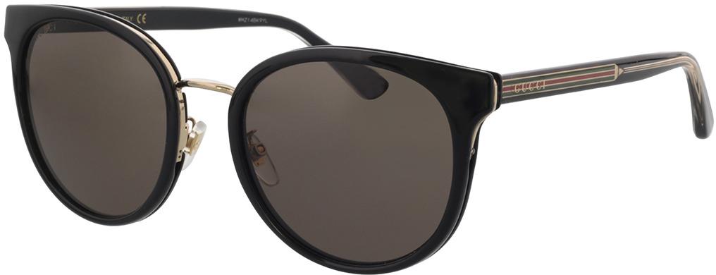 Picture of glasses model Gucci GG0850SK-001 56-21 in angle 330