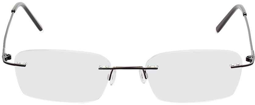 Picture of glasses model Salinas noir in angle 0