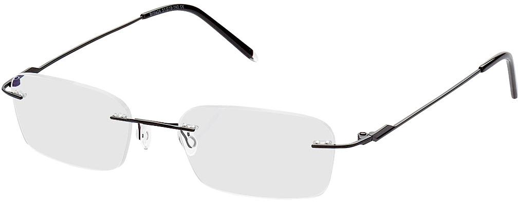 Picture of glasses model Salinas noir in angle 330
