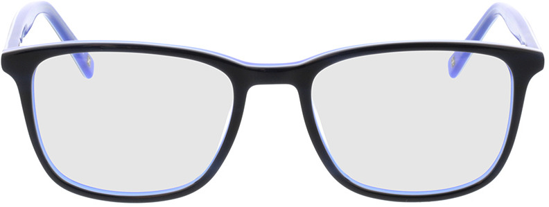 Picture of glasses model Colby-dunkelblau/weiß/blau in angle 0