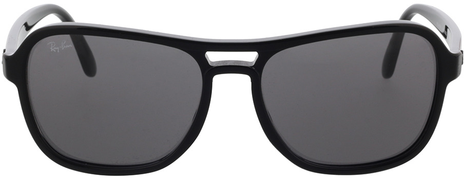 Picture of glasses model Ray-Ban RB4356 601/B1 58-17 in angle 0