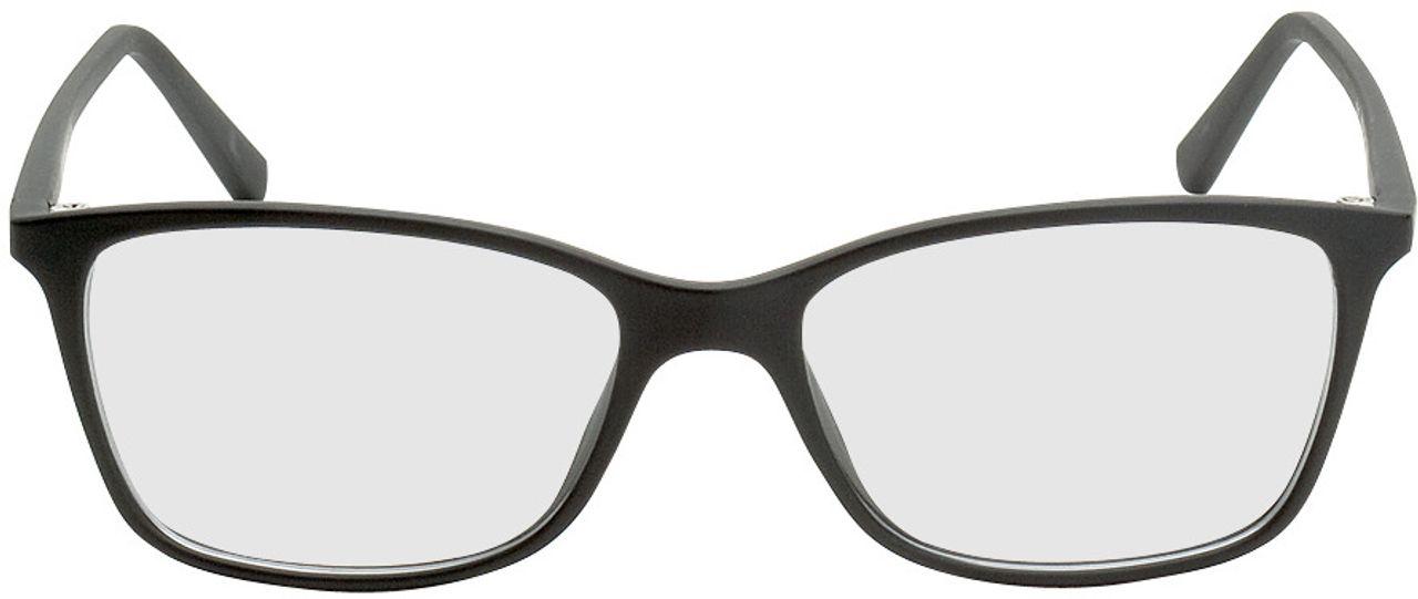 Picture of glasses model Bergama-schwarz in angle 0