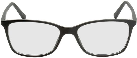 Picture of glasses model Bergama-black in angle 0