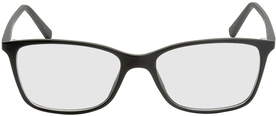 Picture of glasses model Bergama noir in angle 0