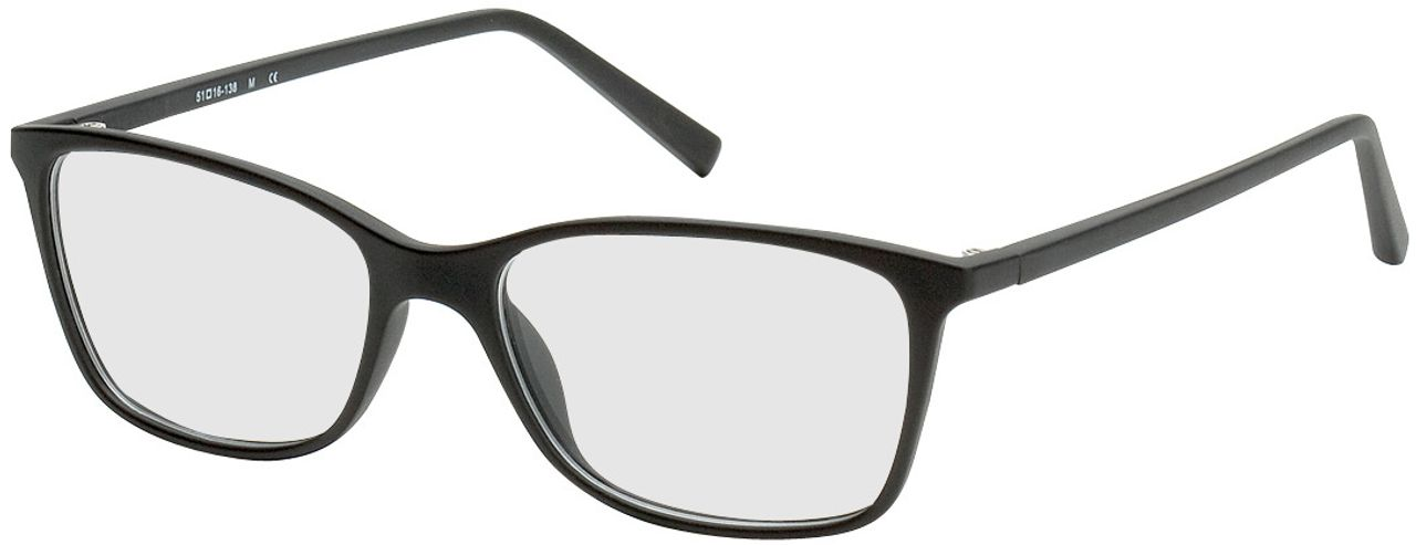 Picture of glasses model Bergama-black in angle 330
