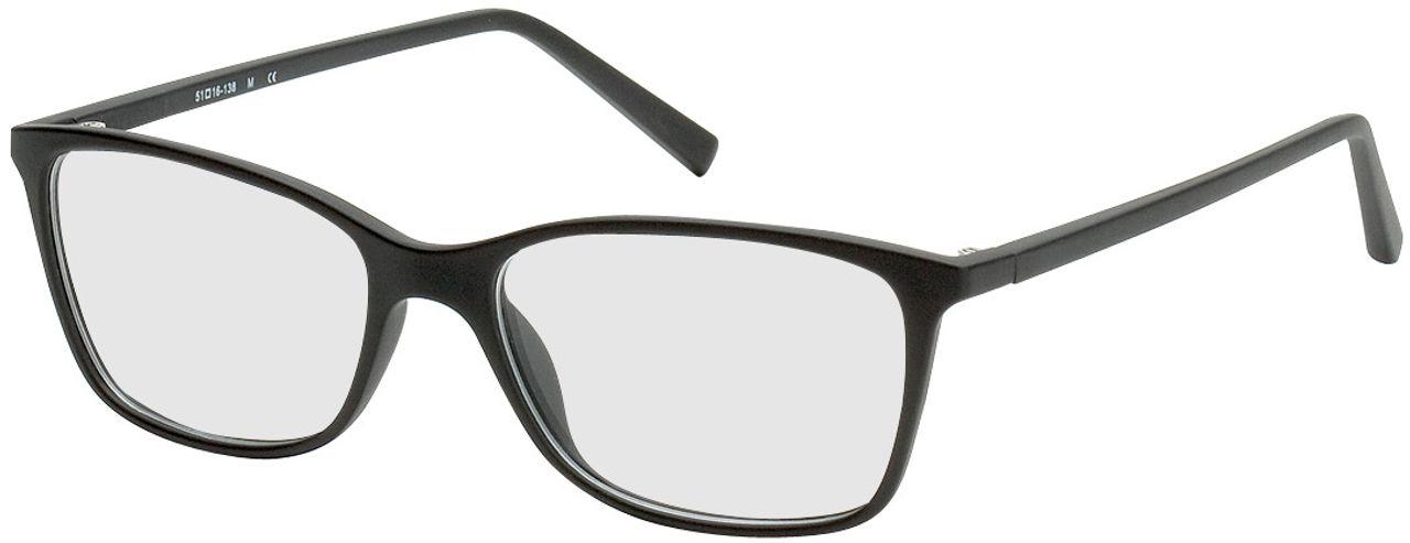 Picture of glasses model Bergama-schwarz in angle 330