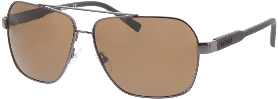 Picture of glasses model Timberland TB9257 08H 63-13 in angle 330