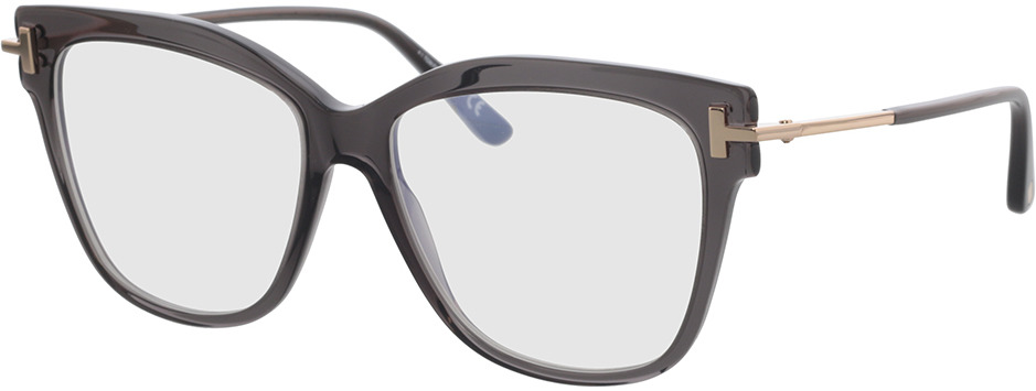 Picture of glasses model Tom Ford FT5704-B 020 54 in angle 330