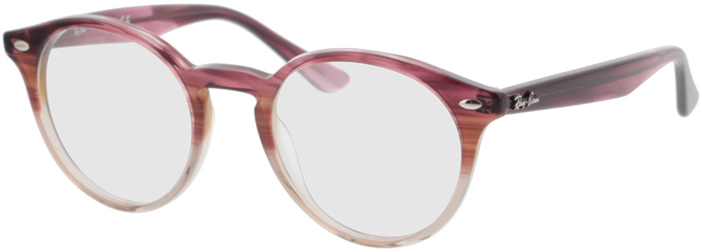 Picture of glasses model Ray-Ban RX2180V 8145 49-21 in angle 330