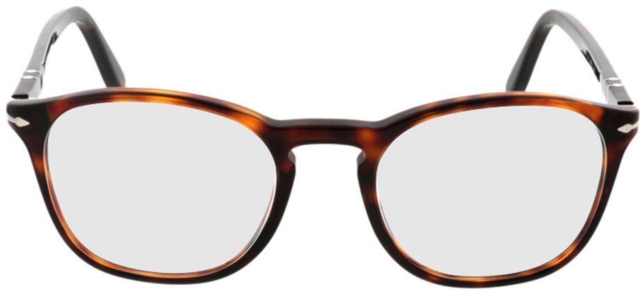 Picture of glasses model Persol PO3007V 24 50-19 in angle 0