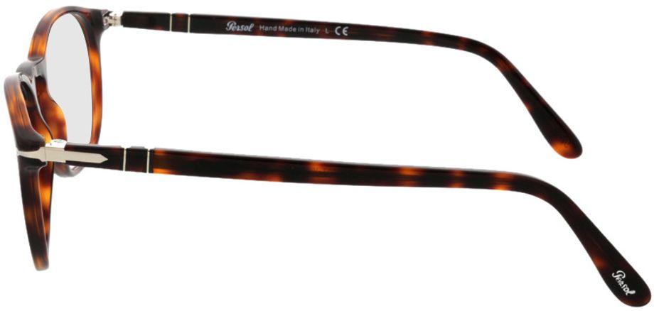 Picture of glasses model Persol PO3007V 24 50-19 in angle 270