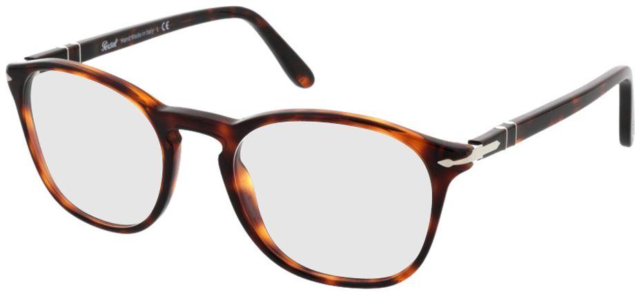 Picture of glasses model Persol PO3007V 24 50-19 in angle 330
