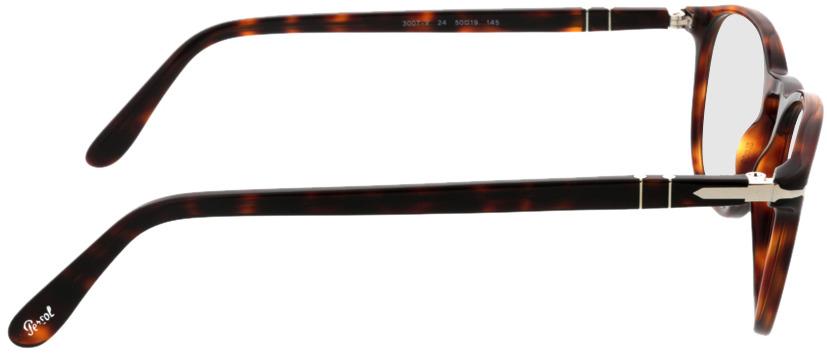 Picture of glasses model Persol PO3007V 24 50-19 in angle 90