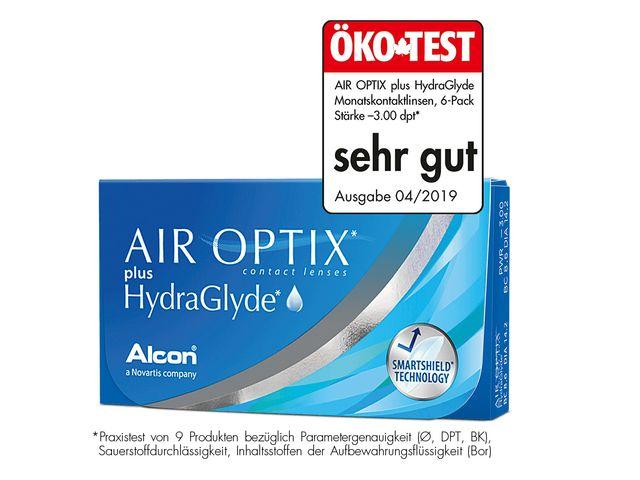 AIR OPTIX® Plus Hydraglyde 3er Box
