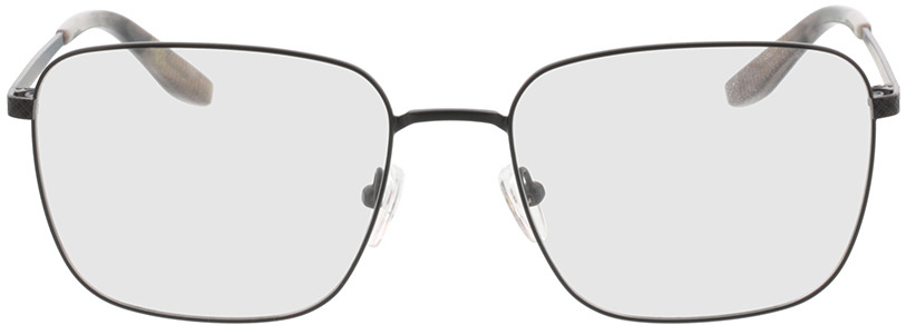 Picture of glasses model Helios Zwart/grijs-horn in angle 0