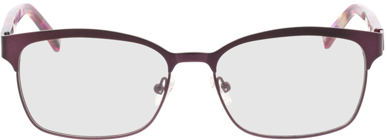 Picture of glasses model Galaxis-pink matt in angle 0