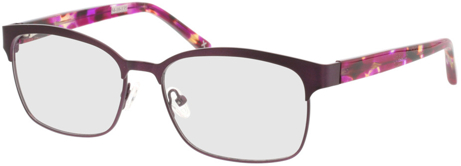 Picture of glasses model Galaxis-pink matt in angle 330