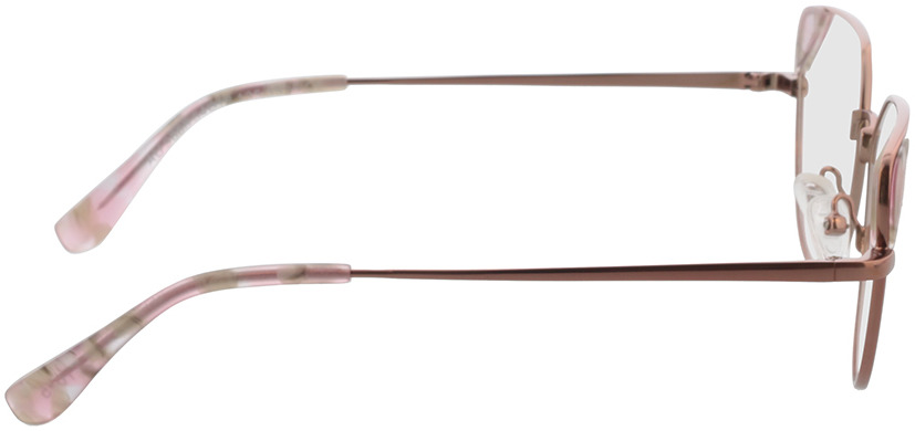 Picture of glasses model Kiki rosegold in angle 90