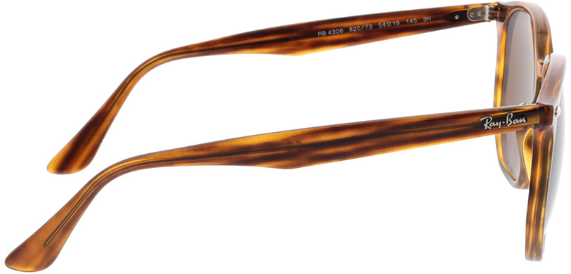 Picture of glasses model Ray-Ban RB4306 820/73 54-19 in angle 90