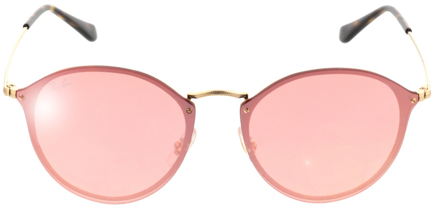 Picture of glasses model Ray-Ban RB3574N 001/E4 59-14 in angle 0