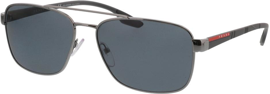 Picture of glasses model Prada Linea Rossa PS 51US 5AV5Z1 62-16 in angle 330