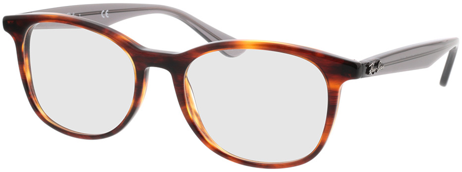 Picture of glasses model Ray-Ban RX5356 5607 54-19 in angle 330