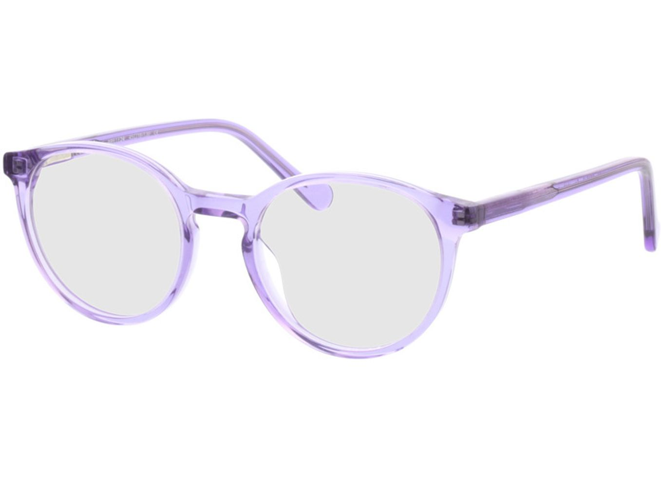 4967-singlevision-0000 Bursa-lila Gleitsichtbrille, Vollrand, Rund Brille24 Collection