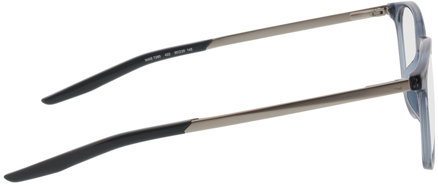 Picture of glasses model Nike NIKE 7280 422 50-20 in angle 90