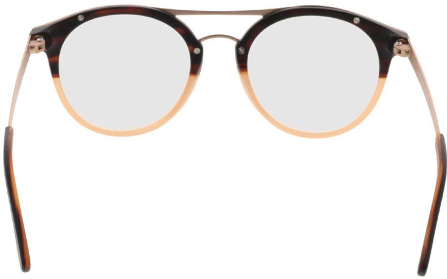 Picture of glasses model Comma70028 60 braun 48-19 in angle 180