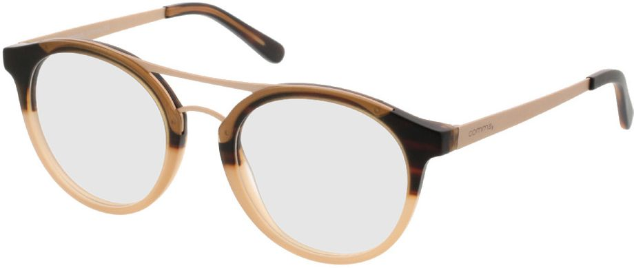 Picture of glasses model Comma70028 60 braun 48-19 in angle 330