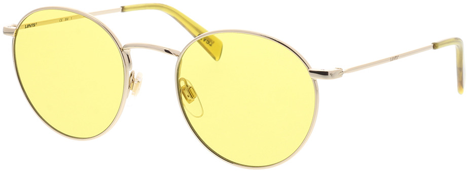 Picture of glasses model Levi's LV 1005/S DYG 52-21 in angle 330