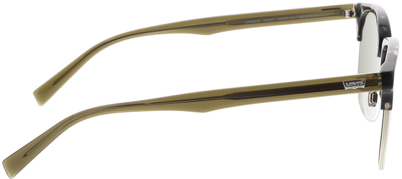 Picture of glasses model Levi's LV 5002/S 4N3 52-20 in angle 90
