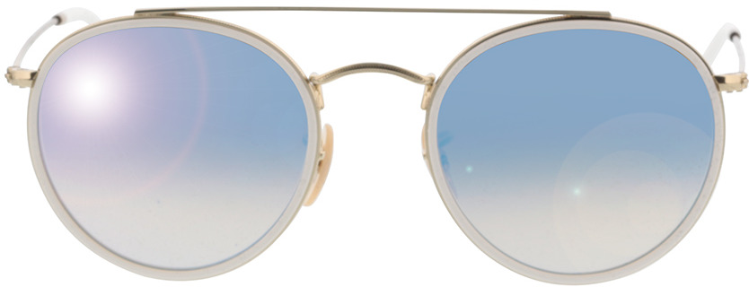 Picture of glasses model Ray-Ban RB3647N 001/4O 51-22 in angle 0