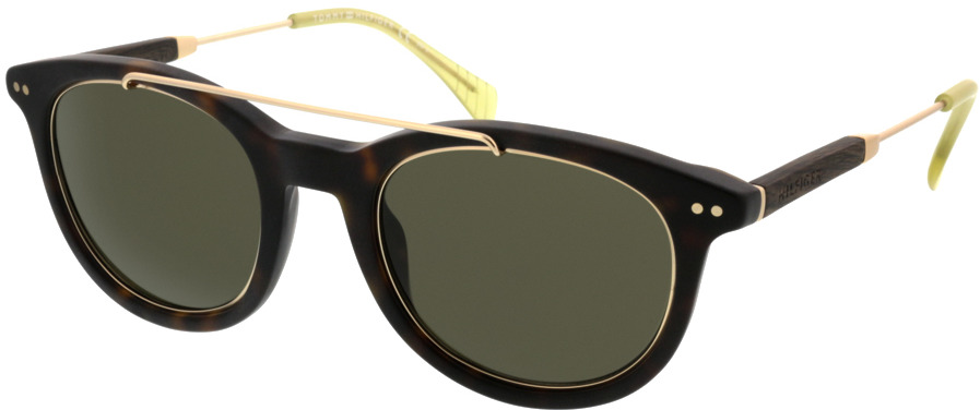 Picture of glasses model Tommy Hilfiger TH 1348/S JU5 49 23 in angle 330