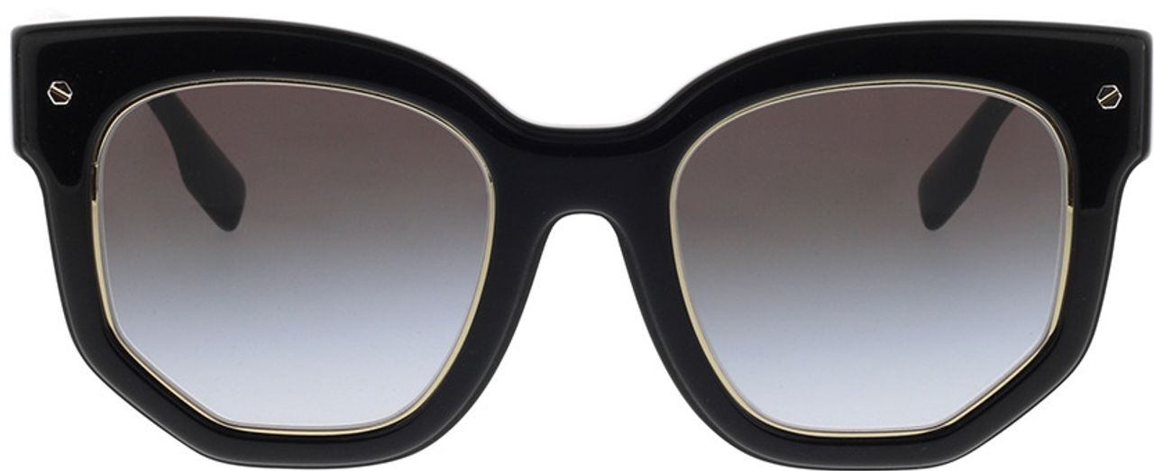 Picture of glasses model Burberry BE4307 30018G 50-22 in angle 0