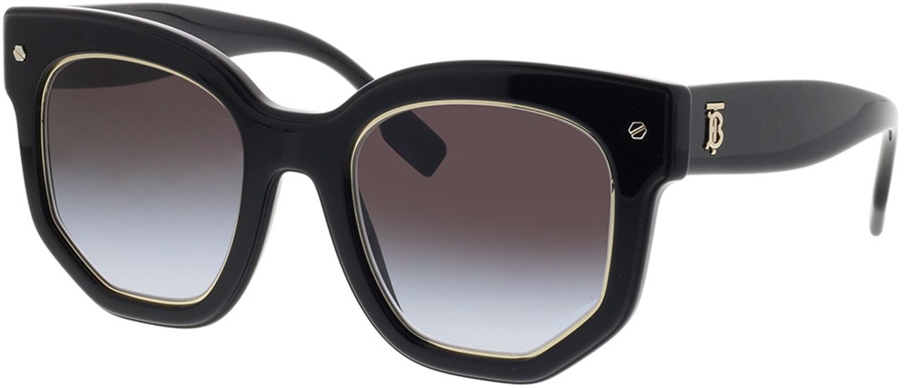Picture of glasses model Burberry BE4307 30018G 50-22 in angle 330